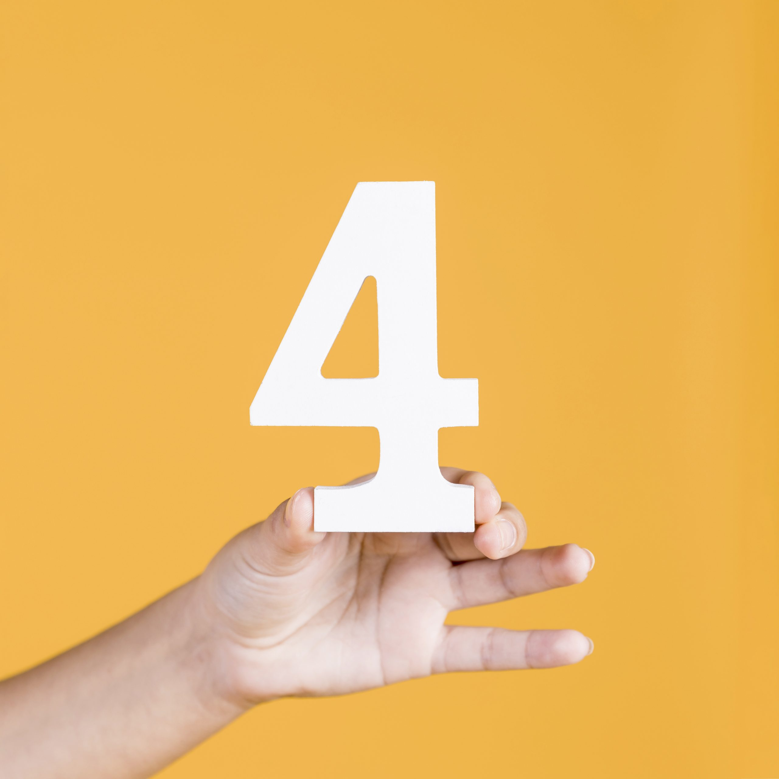 Arti Angka 4 buat Saya | The Meaning of Number 4 for Me